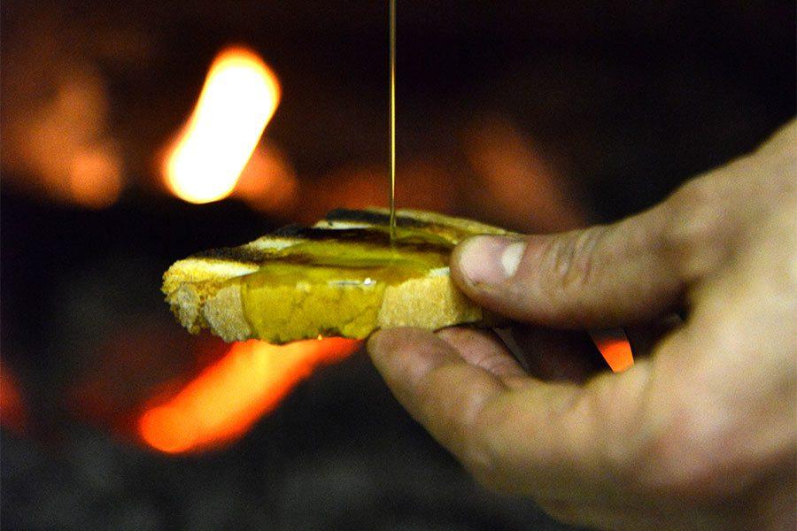 pane e olio tenuta mensanello