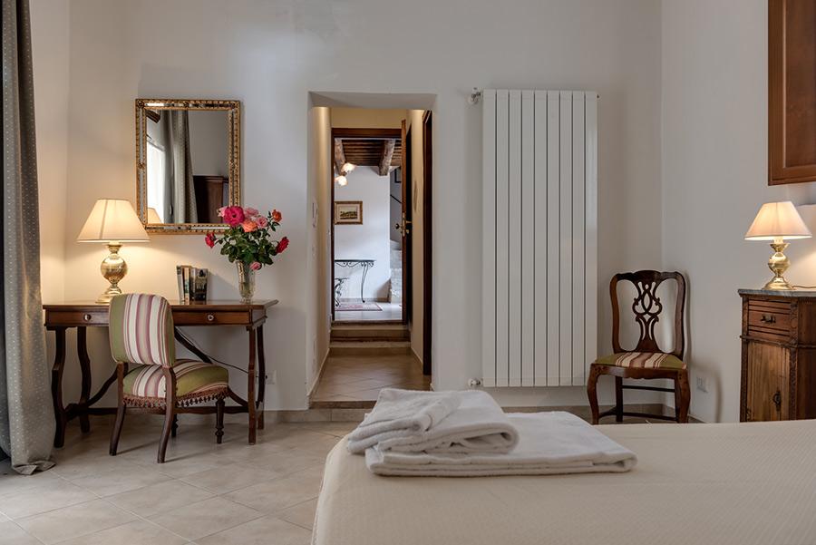 camere accoglienti tenuta di Mensanello