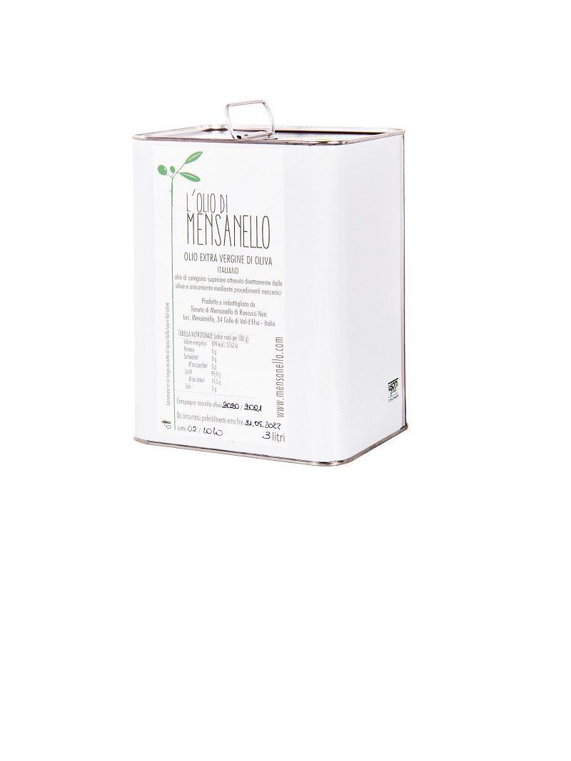 L'Olio di Mensanello 3 litri